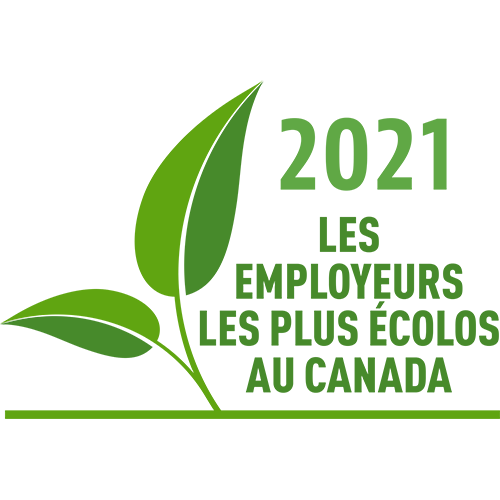 2021 Canada's Greenest Employers – Hydro Ottawa has been named one of Canada's Greenest Employers. This award recognizes that our commitment to sustainability extends beyond generating clean electricity to ensuring the environment is taken into consideration throughout every facet of our operations. This includes the provision of energy conservation tips and incentives to our customers.